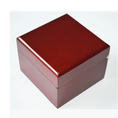 High End Gloosy MDF Wooden with Velvet Pillow Watch Storage Box
