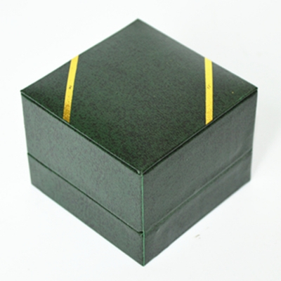 New arrival Creative Glossy Paper Jewelry Single Ring Storage Box